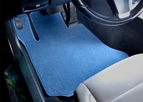 GGBailey - Premium Car Mats - Blue 1